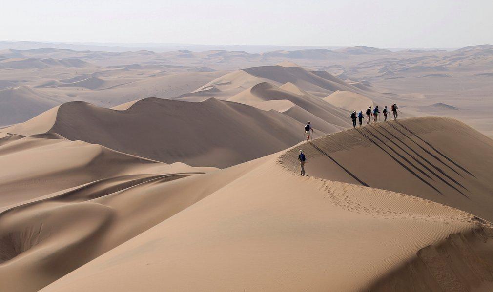 Trekking Iran's Lut desert: a wild, remote adventure – in pictures