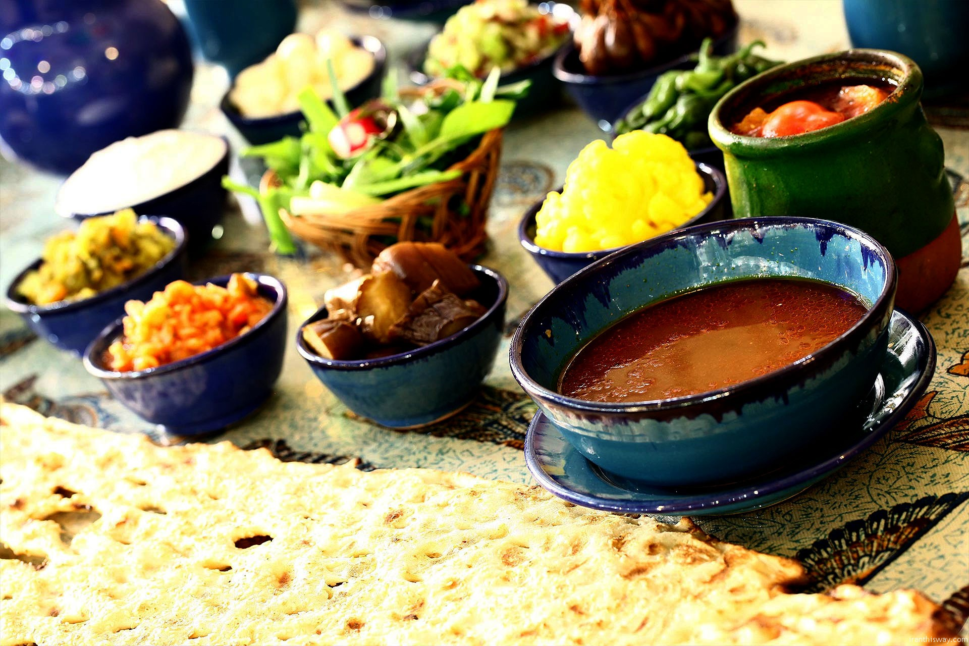 A foodie tour of Iran: it's poetry on a plate