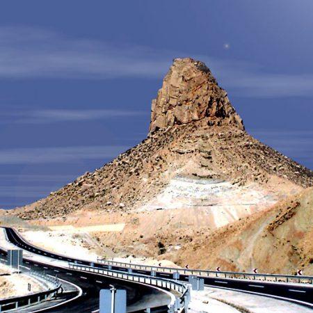الجبل مثیر للجدل فی ایران مع خصائص لعلاج مرض الایدز