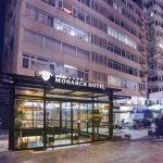 white Monarch Hotel