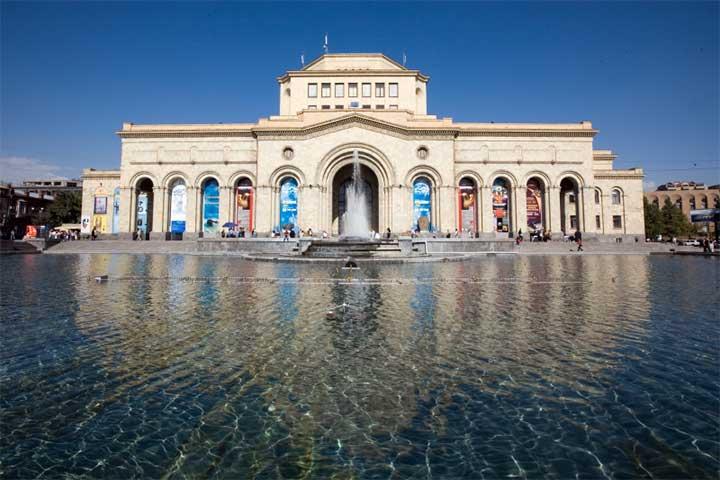 میدان جمهوری Republic Square in Yerevan