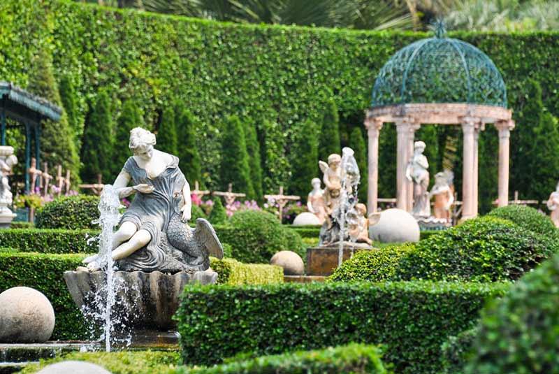 باغ نانگ نوچ پاتایا، یکی از ده باغ زیبای جهان