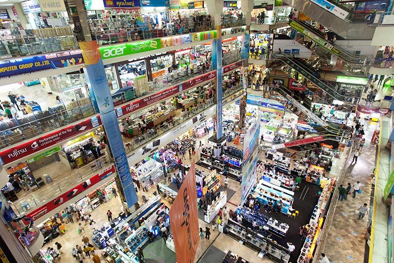 مراکز خرید ارزان بانکوک