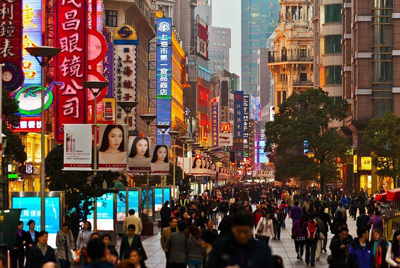 خیابان نانجینگ و تجربه خرید در شانگهای