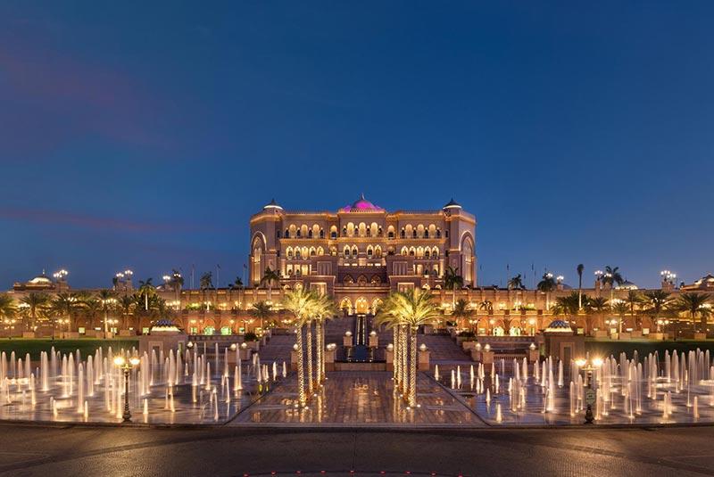 کاخ امارات، لوکس ترین هتل جهان