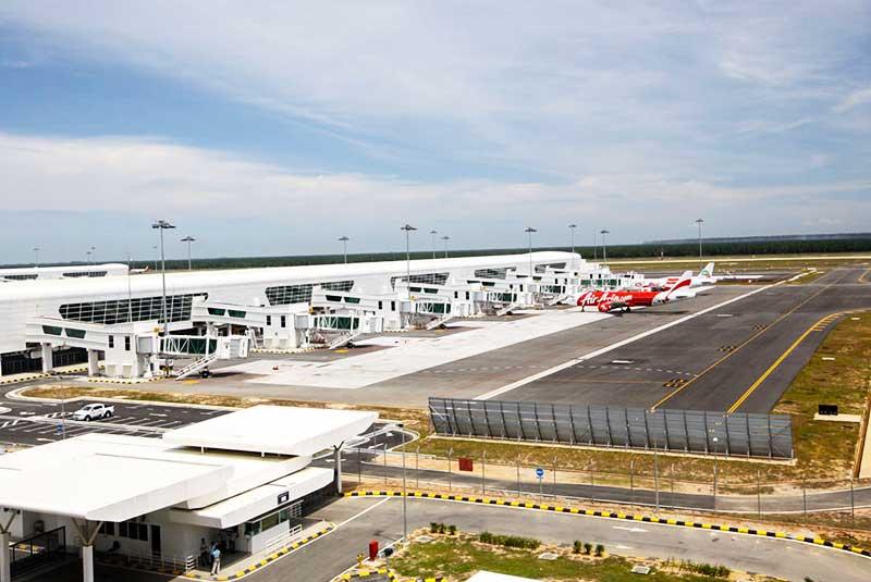 فرودگاه بین المللی کوالالامپور، بزرگترین فرودگاه مالزی