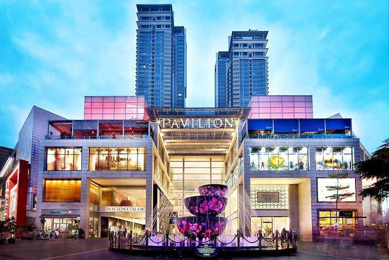 مراکز خرید کوالالامپور با ظاهر و ویترین های جذاب