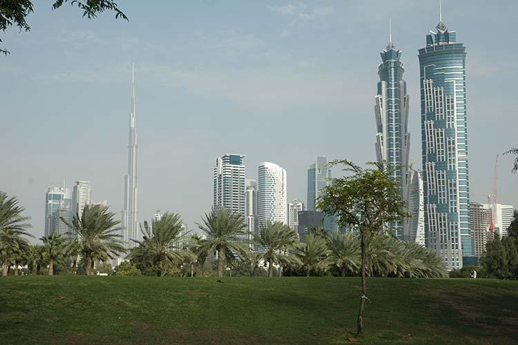 پارک صفا، قدیمی ترین پارک دبی