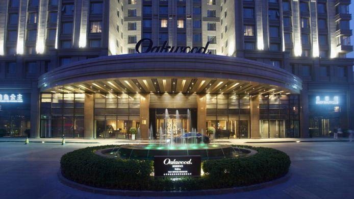 Oakwood Residence hotel