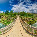 آبشار مرادیه آبشاری چهار فصل در وان