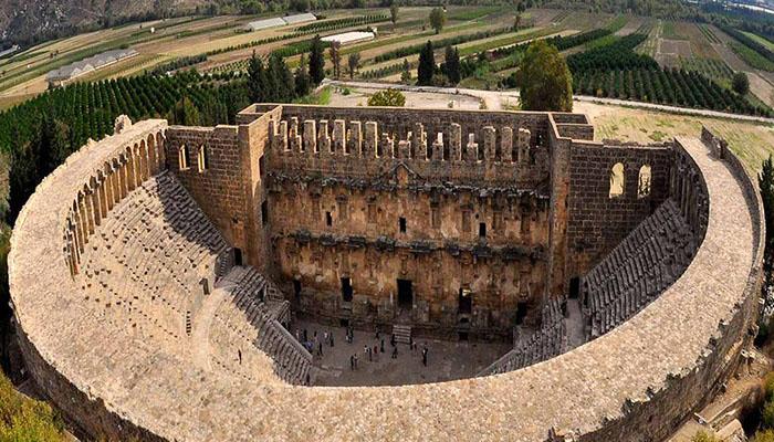 آمفی تئاتر آسپندوس آنتالیا (Aspendos Amphitheater)