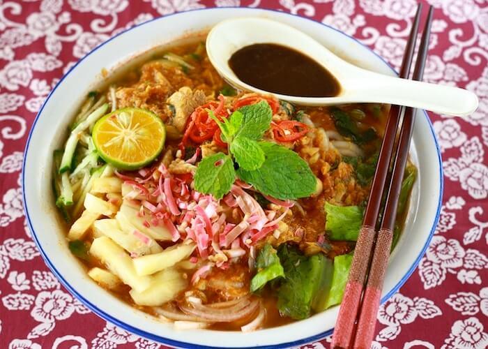 بهترین غذاهای خیابانی را در پنانگ