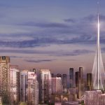 تصاویری از بلندترین ساختمان جهان در دبی