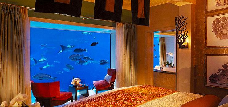 پنج مورد از خاص ترین هتل های زیر آب دنیا