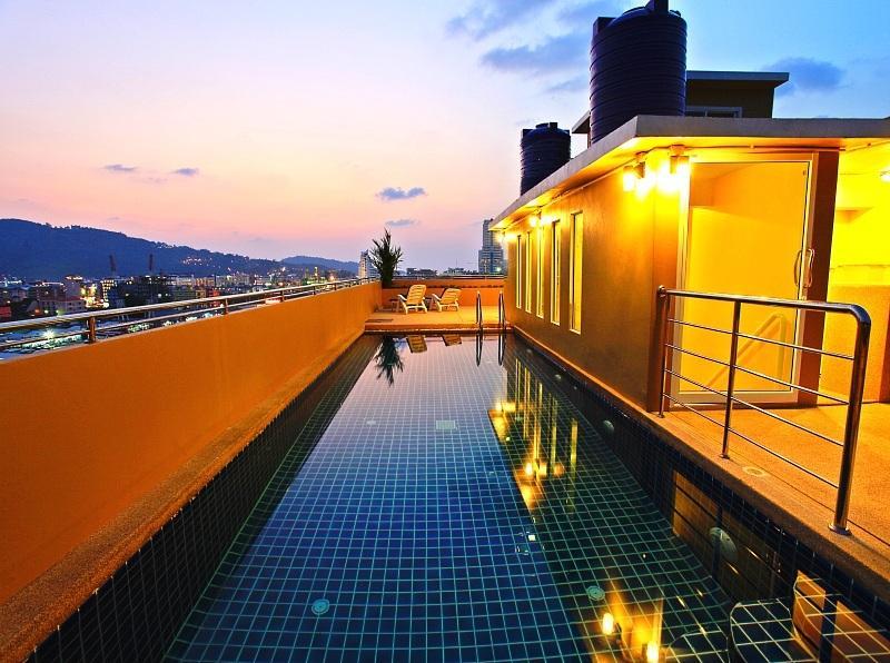 Patong Beach hotel 88