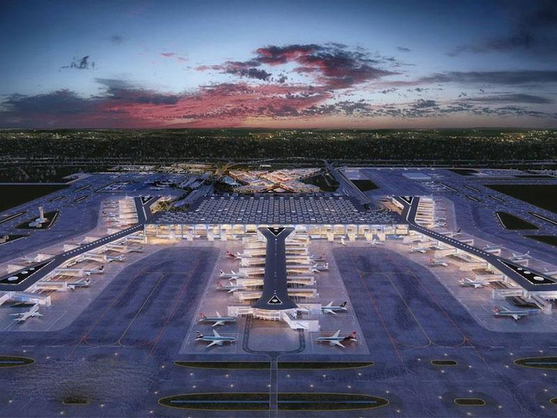 فرودگاه جدید استانبول کجاست؟