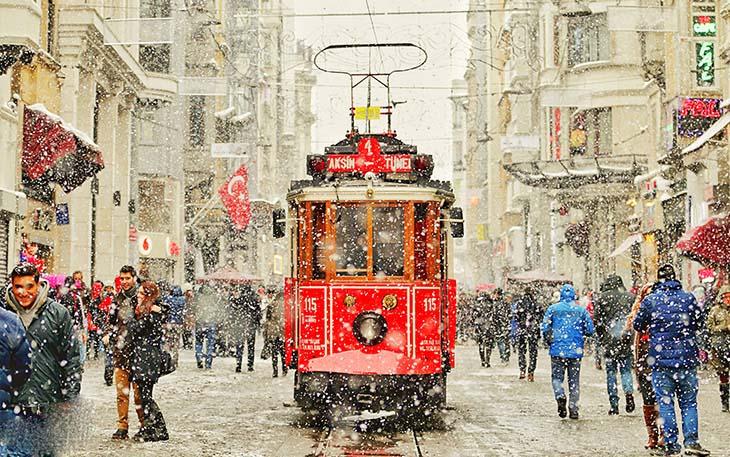 جذاب ترین فعالیت های زمستانی در استانبول