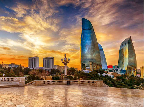 هزینه های سفر به باکو