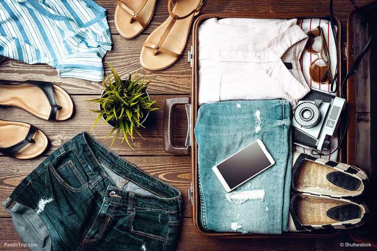 وسایل مورد نیاز در سفر