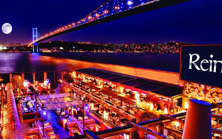 رستوران های استانبول با چشم انداز بسفر