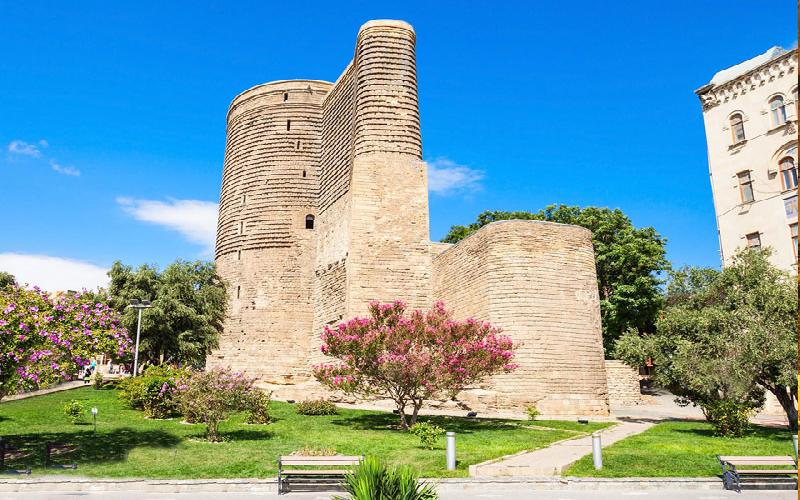 قلعه دختر نماد تاریخی و باشکوه در باکو