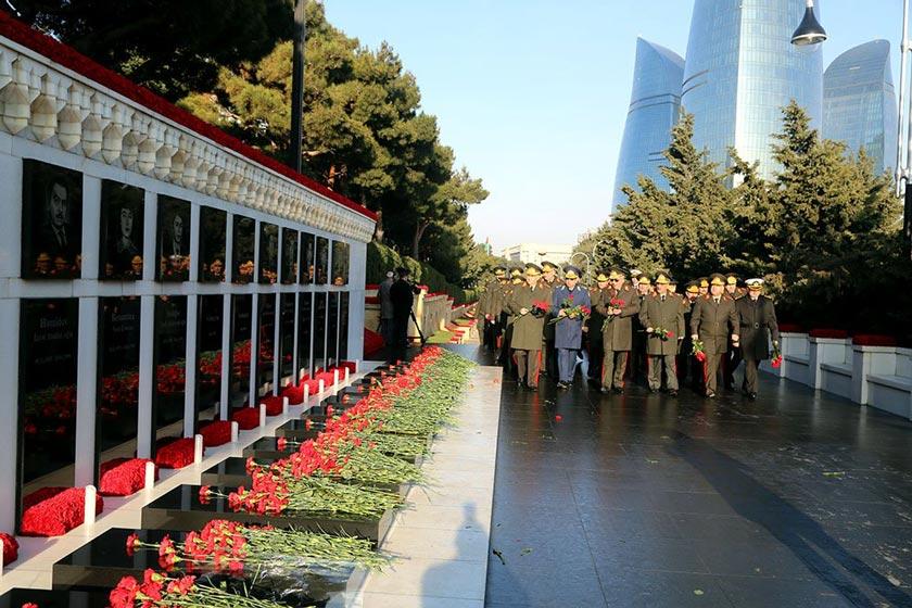 خیابان شهدا باکو یادآور یک تراژدی