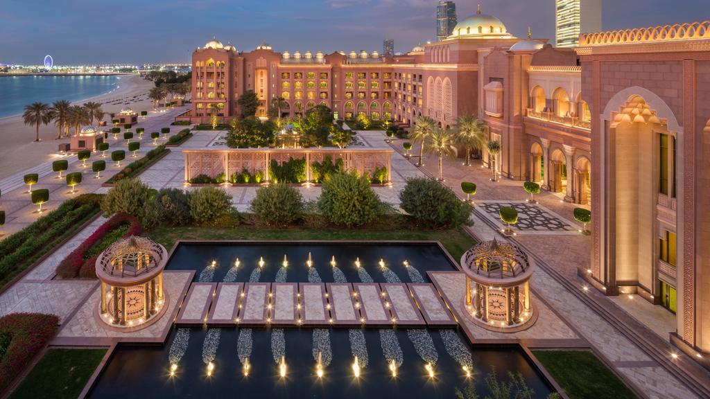 هتل هفت ستاره کاخ امارات ابوظبی