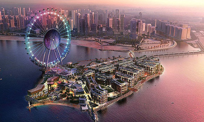 چرخ و فلک عین دبی(Ain Dubai)