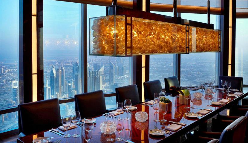 رستوران اتمسفر دبی