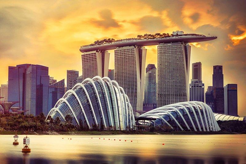 برج مارینا بی سندز سنگاپور