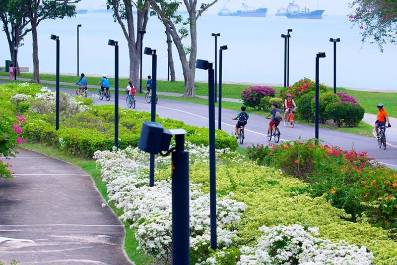 پارک هایی که سنگاپور را احاطه کرده اند