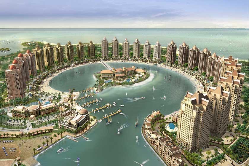 جزیره مصنوعی مروارید قطر