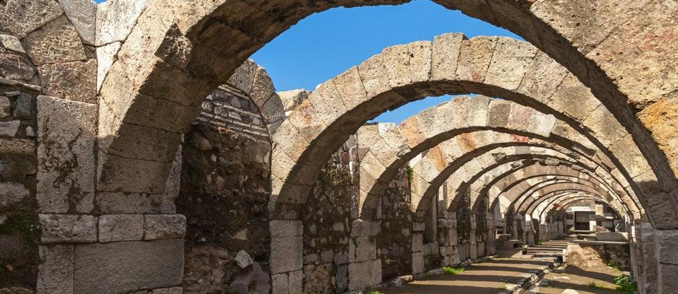 سمیرانا شهر باستانی یونان