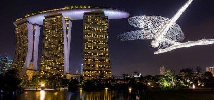 گاردنز بای د بی سنگاپور