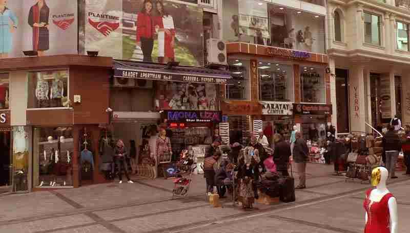بازار عمده ی پوشاک استانبول