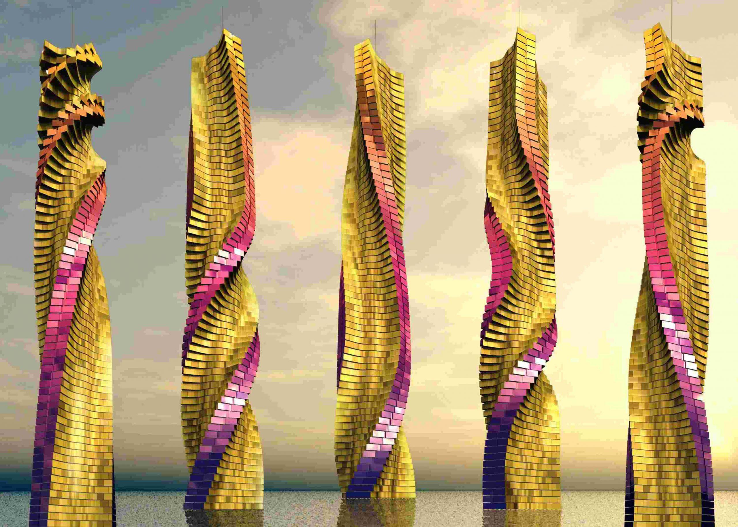 برج چرخان دبی