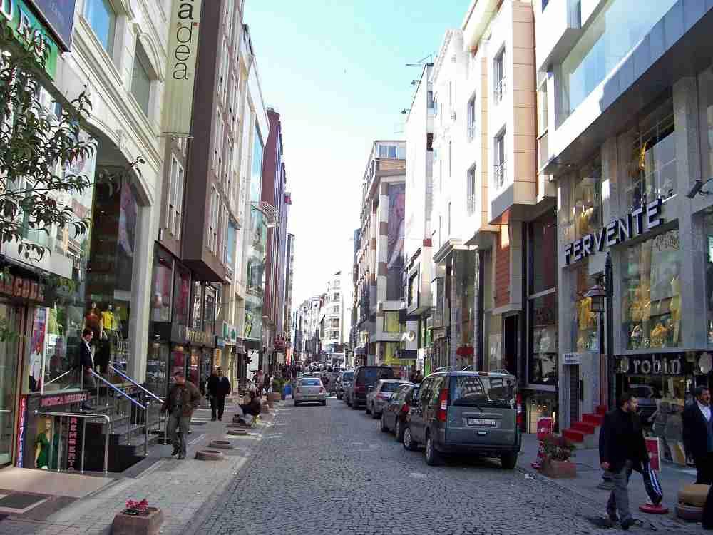 منطقه لاله لی استانبول