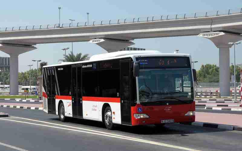 خدمات حمل و نقل اتوبوس در دبی