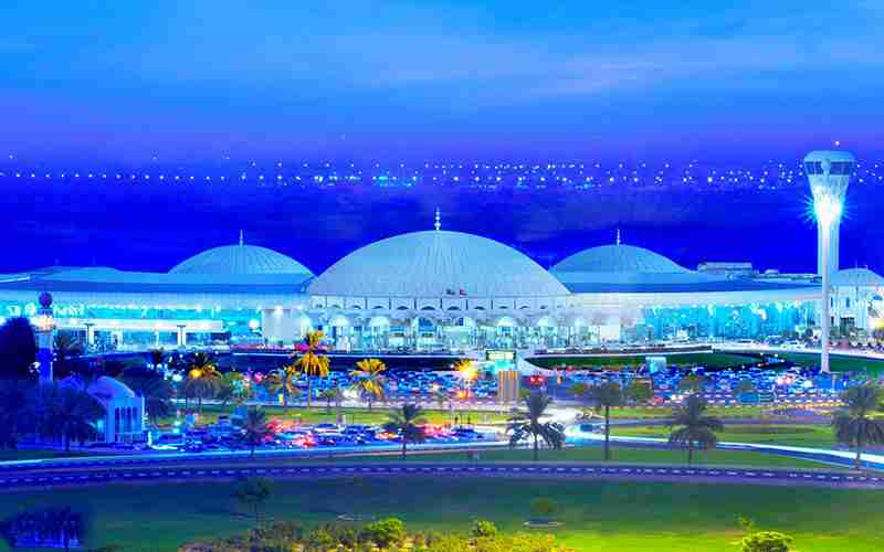 فرودگاه شارجه اولین فرودگاه امارات متحده عربی