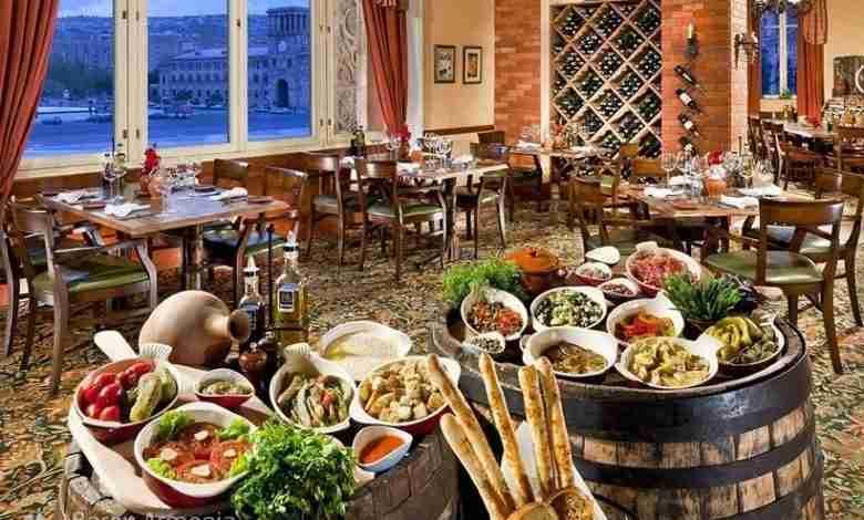 رستوران های ارزان ایروان