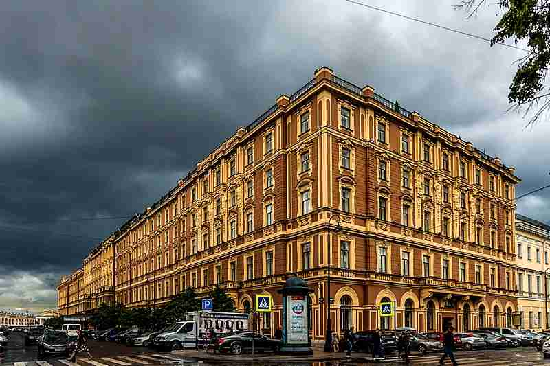 Grand Hote Europe hotel