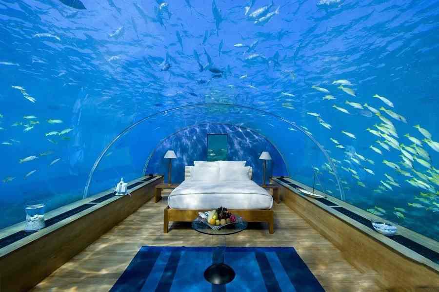 موراکا اولین هتل زیرآبی جهان