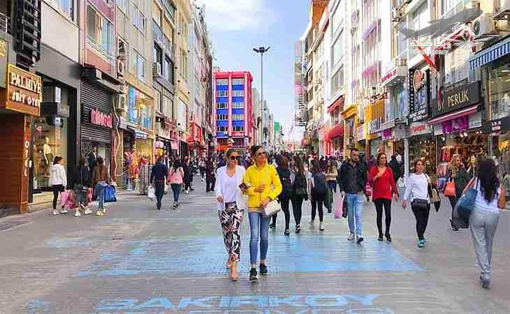 محله های بالا شهر استانبول