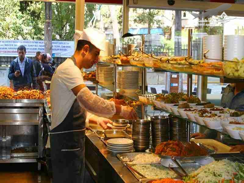 رستوران های ارزان قیمت استانبول